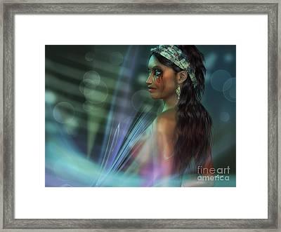 Dark Beauty Framed Print
