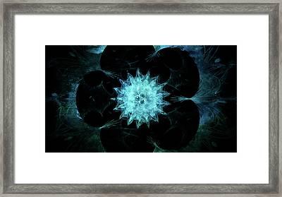 Dark Beauty Framed Print by Rhonda Barrett