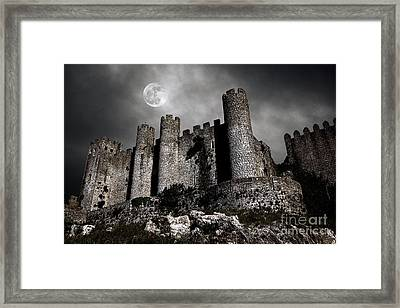 Dark Castle Framed Print