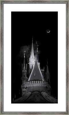 Framed Print featuring the photograph Dark Castle by Mark Andrew Thomas