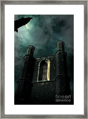 Dark Castle Framed Print