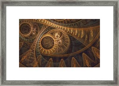 Dark Chronos Framed Print