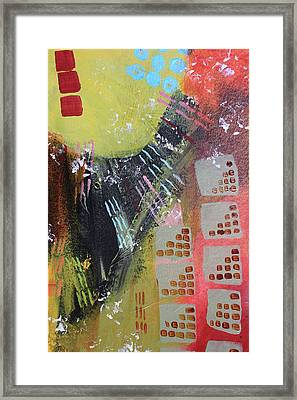 Dark City Framed Print