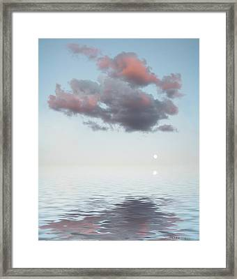 Dark Cloud Framed Print by Jerry McElroy