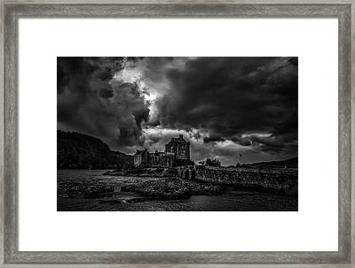 Dark Clouds Bw #h2 Framed Print