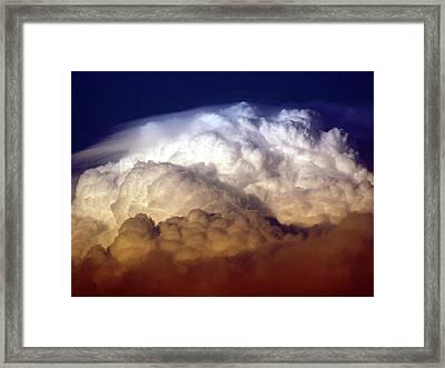 Dark Clouds Framed Print by Graham Taylor
