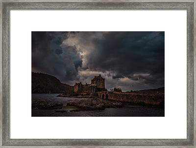 Dark Clouds #h2 Framed Print
