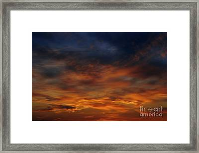 Dark Clouds Framed Print by Michal Boubin