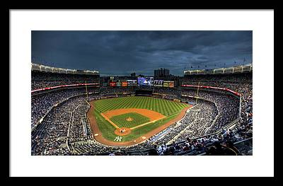Yankee Stadium Framed Prints