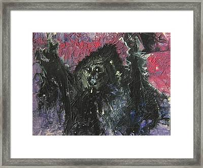Dark Conjurings Framed Print by Mimulux patricia no No