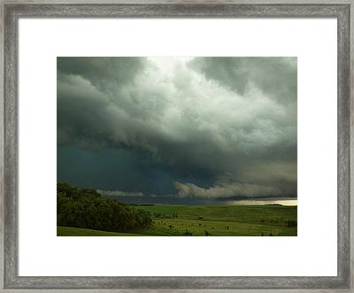 Dark Countryside Framed Print by Melissa Peterson
