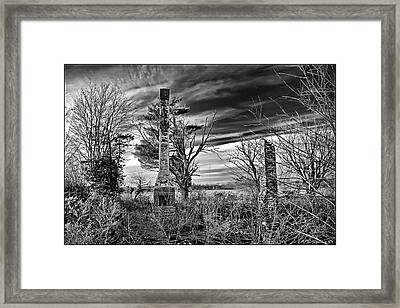 Framed Print featuring the photograph Dark Days by Brian Wallace