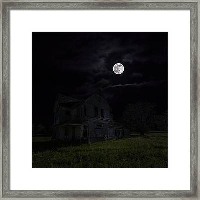 Dark Embrace Framed Print