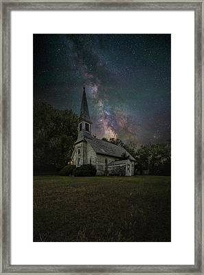 Framed Print featuring the photograph Dark Enchantment  by Aaron J Groen