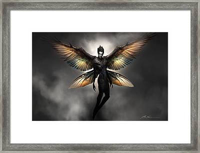 Dark Fairy Framed Print by Alex Ruiz