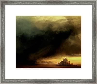 Dark Fantasy Framed Print by Lonnie Christopher
