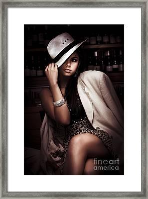 Dark Fashion Framed Print by Jorgo Photography - Wall Art Gallery