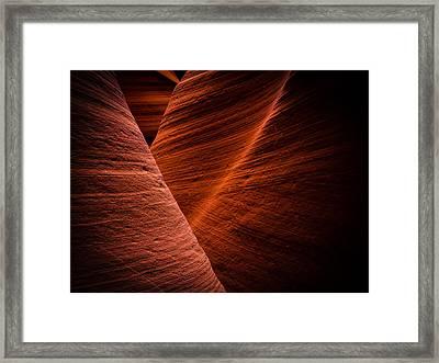 Dark Flow Framed Print