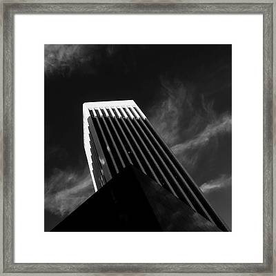 Dark Geometry Framed Print
