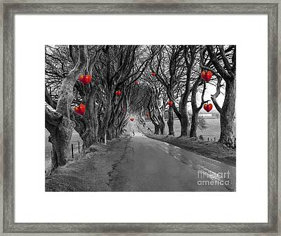 Dark Hedges Framed Print by Juli Scalzi