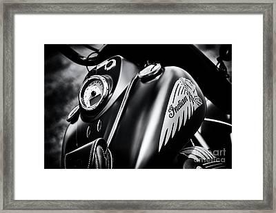 Dark Horse Chief Framed Print