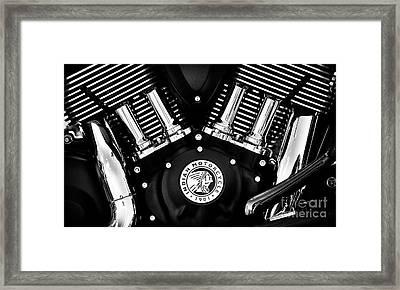 Dark Horse Motor Framed Print
