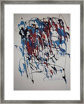 Dark Horse Opps Framed Print