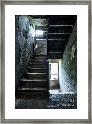 Dark Intervals Framed Print by Evelina Kremsdorf