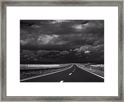 Dark Journey Framed Print by Mountain Dreams