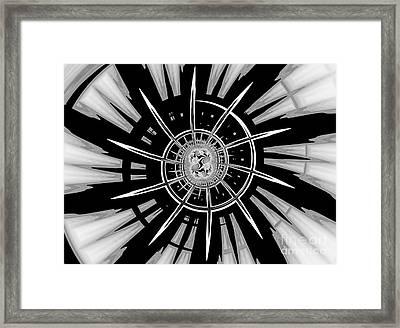 Dark Liberty Framed Print