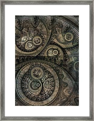 Dark Machine Framed Print