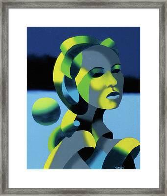 Dark Matter 5 Framed Print by Mark Webster