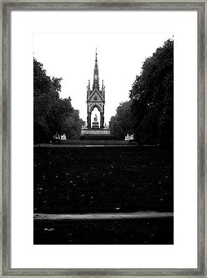 Dark Memorial Framed Print by Jez C Self