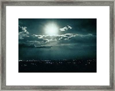 Dark Night Framed Print by Paul Cristian Panaete