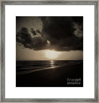 Dark Ocean 1 Framed Print by Amanda Currier