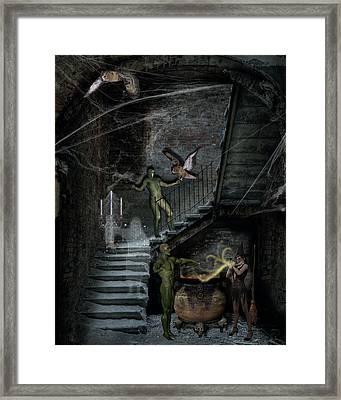 Dark Of The Night Framed Print by Solomon Barroa