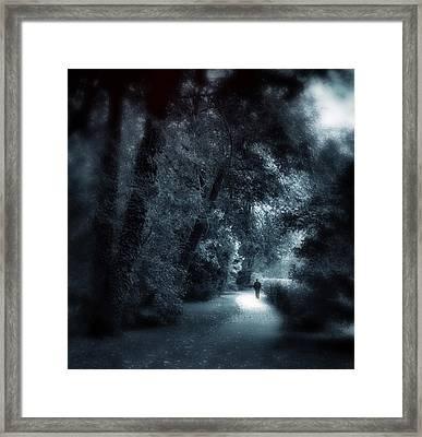 Dark Passage Framed Print by Jessica Jenney