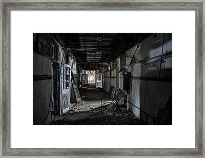 Dark Passage Framed Print by Robert Myers