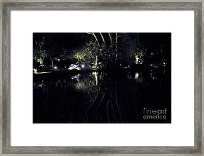 Dark Reflections Framed Print by Clayton Bruster