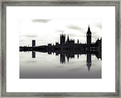 Dark Reflections Framed Print by Sharon Lisa Clarke