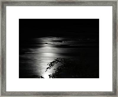 Dark River Framed Print