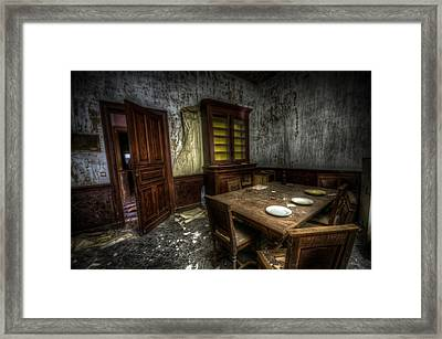 Dark Room Framed Print