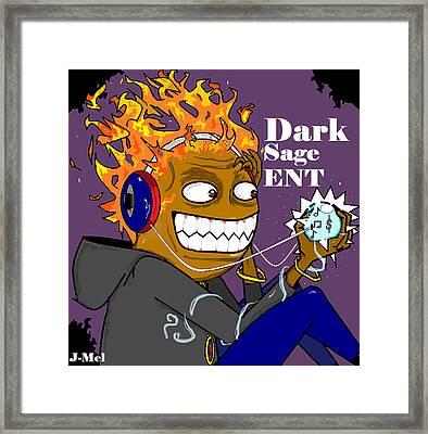 Dark Sage Framed Print by Joshua Massenburg