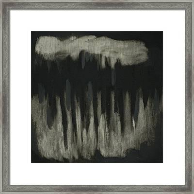 Dark Showers Framed Print by Liz Maxfield
