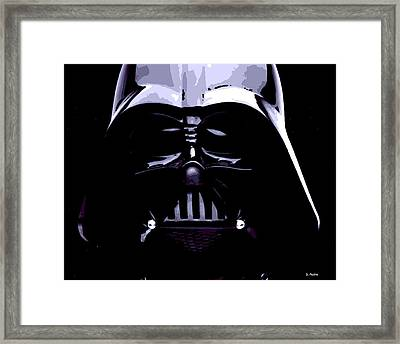 Dark Side Framed Print by George Pedro