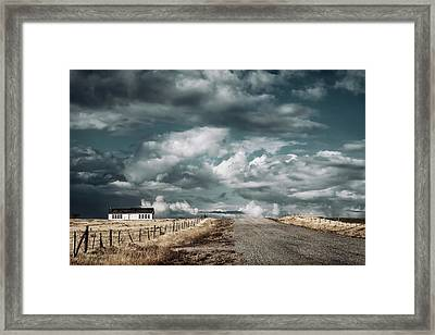 Dark Sky Framed Print