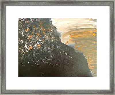 Dark Storm Framed Print by Barbara Yearty