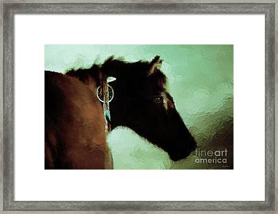Dark Storm Framed Print