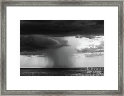 Dark Storm Framed Print