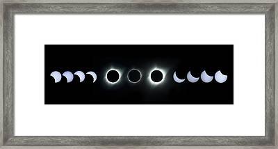 Dark Sun Framed Print